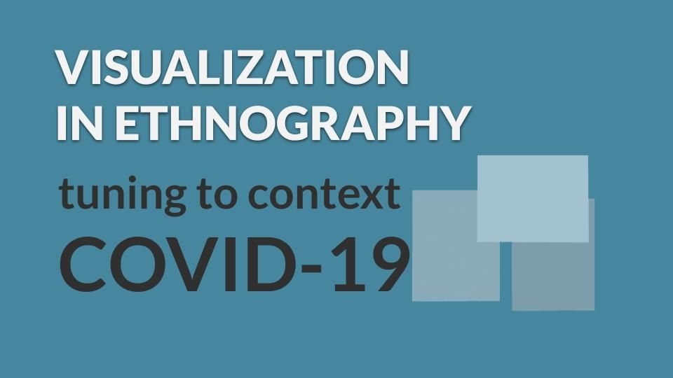 Cover slide for Visualization in Ethnography, Tuning to Context, COVID-19