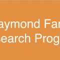 """This image says """"Raymond Fang, Research Program"""""""