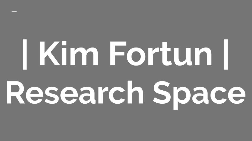 Kim Fortun | Research Space